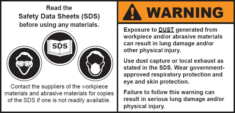 safety guide for grinding wheels